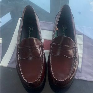Never worn men's penny loafers.